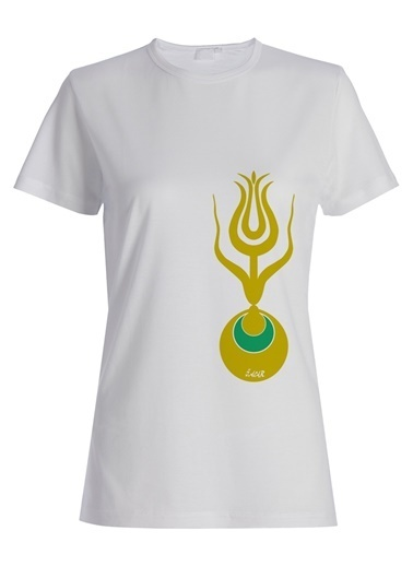 Yeşilay İsmail Acar Tişört Beyaz